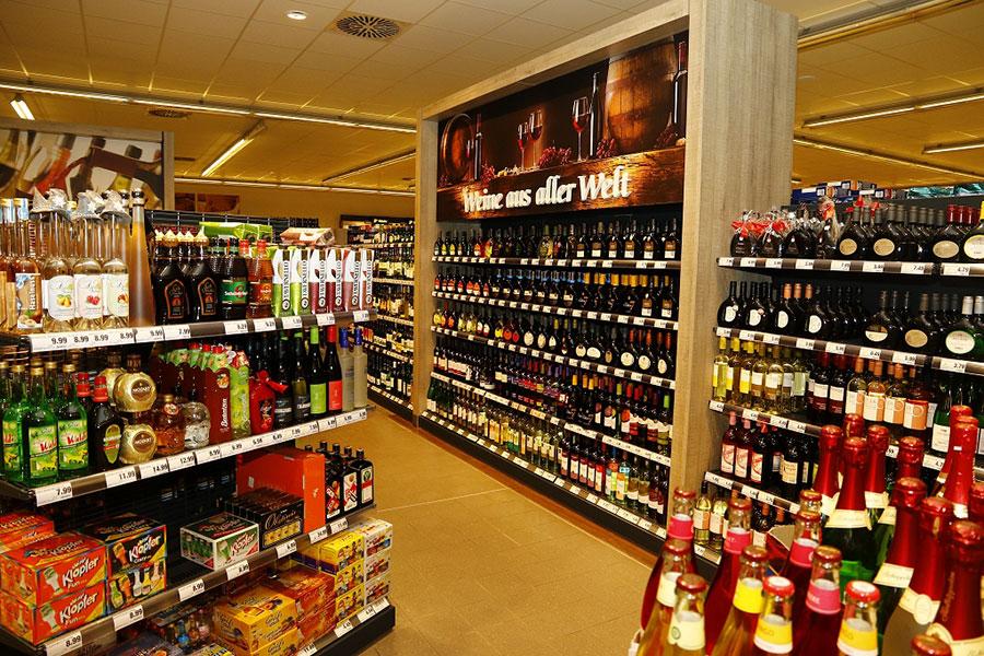Getränkemarkt in Knetzgau