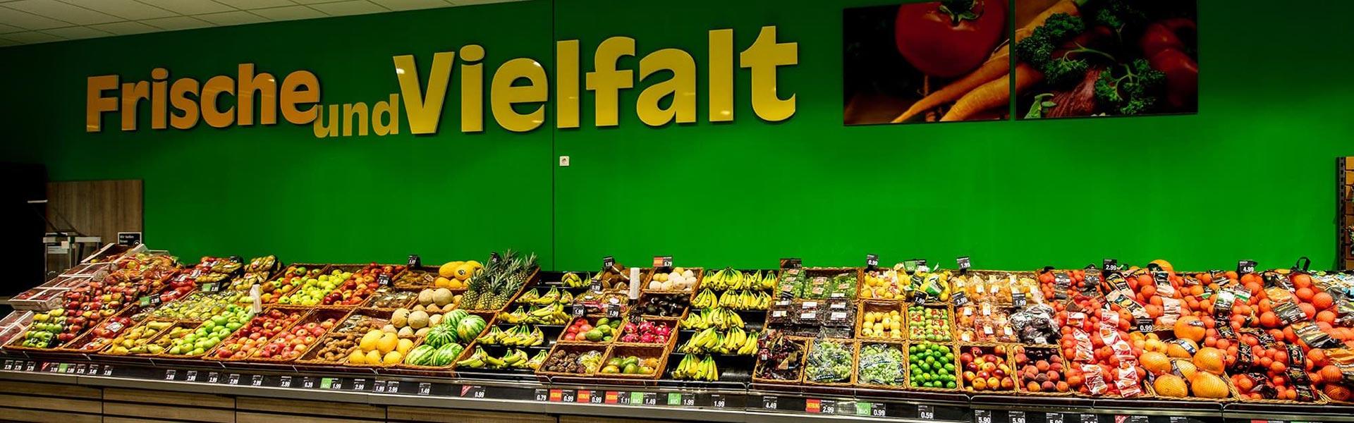 Produkte im Supermarkt in Knetzgau
